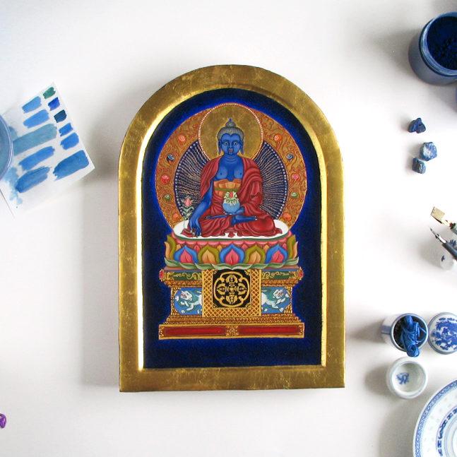 obraz Budda Medycyny