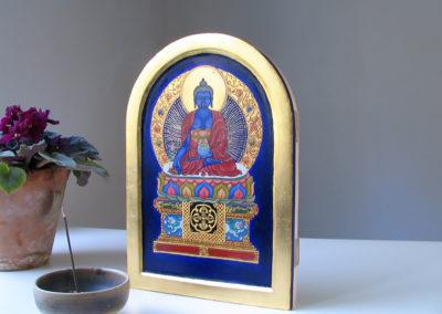Lazurowy Budda