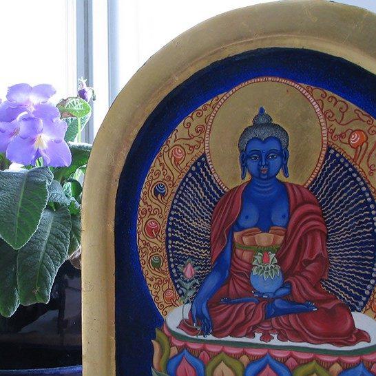 Lazurowy Budda Medycyny